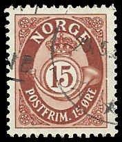 Norway - 325 - Used - SCV-0.25