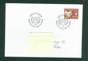 Denmark. FDC 1979. 120+20 Ore Semi-Postal. Children Aid. Sc.# B 58: Adr: Beder