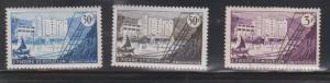 ST PIERRE & MIQUELON Scott # 346-8 Mint Hinged - Le Frigorifique