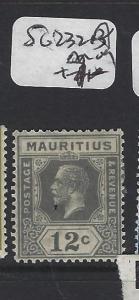 MAURITIUS (P1905B)  KGV 12 C SG  232A      MOG