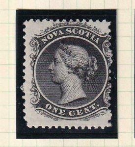NOVA SCOTIA (ns) # 8-9,11-12 VF-MNH MLH QUEEN VICTORIS ISSUES WHITE PAPER $250