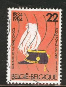 Belgium Scott 1173 used 1984 stamp
