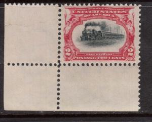 USA #295 VF/NH Corner Stamp