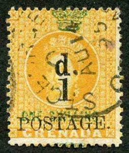 Grenada SG30/6 1883 Set of 7 fine used