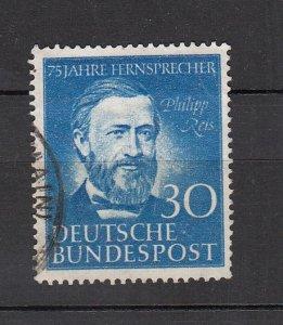 J26490 1952 germany set of 1 used #693 reis