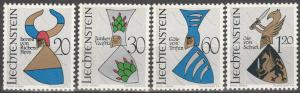 Liechtenstein #411-4  MNH  (S5935L)