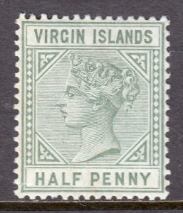 Virgin Islands - Scott #13 - MLH - SCV $6.50
