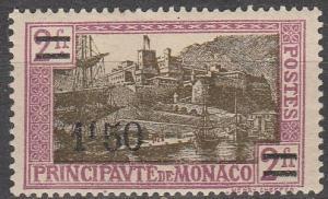 Monaco #99 F-VF   Unused CV $7.00  (K1023)