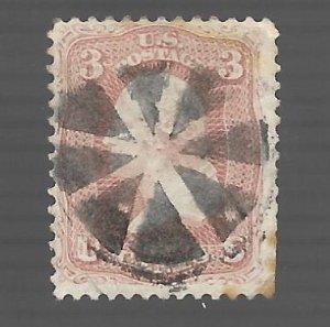 United States 1861 - Scott #64B *