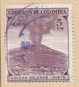 Colombia Air Post 1954 5c Fine Used A8P55F91