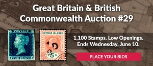 The 29th Great Britain & Commonwealth Auction