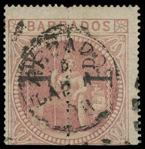 Barbados Scott 59a Gibbons 88a Used Stamp