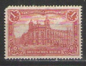 Germany - Empire 1905-19 Sc# 92 MH G/VG