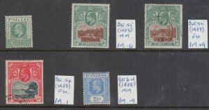 ST HELENA 1902-1908 MINT/USED VALUES SG53, SG55, SG56 AND SG64