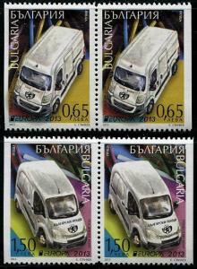 HERRICKSTAMP BULGARIA Sc.# 4638-39 Europa 2013 Stamp Booklet Pair