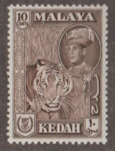 Malaya - Kedah Scott #100 Stamp - Mint NH Single