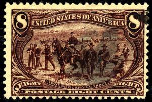 U.S. #289 Used F-VF