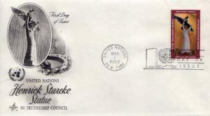 United Nations, First Day Cover, Art