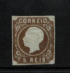 Portugal SC# 12a, Mint No Gum, bent lower right corner, very minor toning -S3168