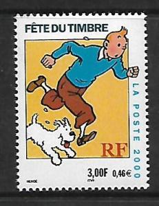 FRANCE, 2764, MNH, TINTIN