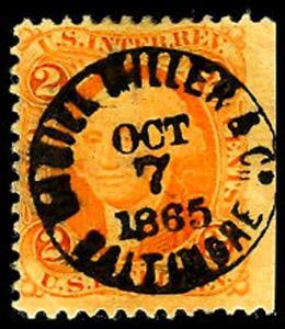 U.S. REV. FIRST ISSUE R15c  Used (ID # 47252)