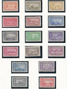 BAHAMAS  1948  S G 178 - 193  SET OF 16  MH