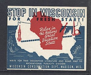 USA New York World's Fair 1939/40 Visit Wisconsin Between NYWF and GGIE San Fra.