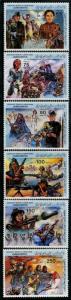 HERRICKSTAMP LIBYA Sc.# 1130-35 Anniv Revolution