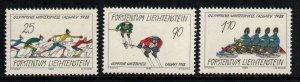 Liechtenstein  877 - 879  MNH cat $ 2.80