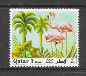 BIRDS - QATAR #240-FLAMINGO  MNH