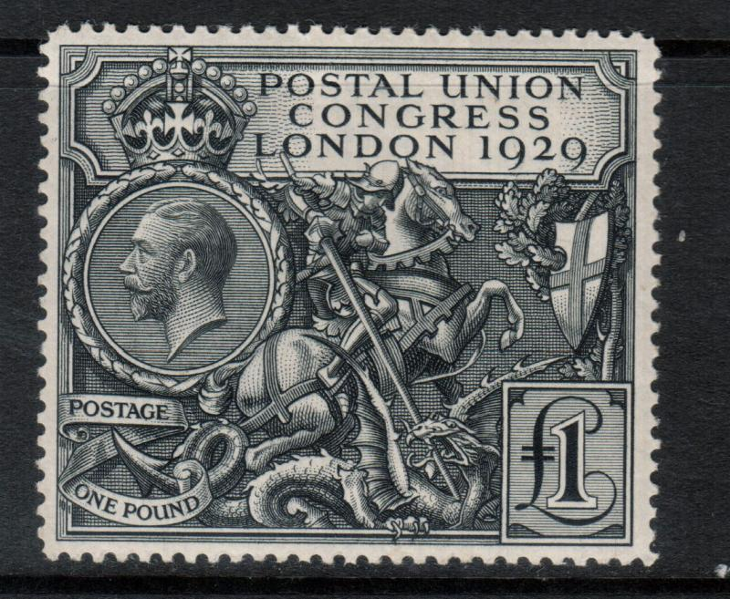 Great Britain #209 Very Fine Mint Full Original Gum Lightly Hinged