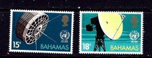 Bahamas 346-47 MNH 1973 set