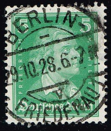Germany #353 Friedrich von Schiller; Used (0.40)