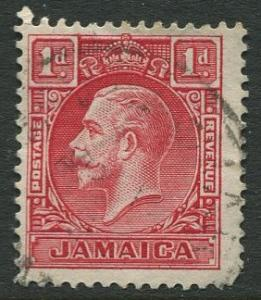 Jamaica -Scott 103a - KGV Pictorial Definitive -1932 - Used - Single 1p Stamp