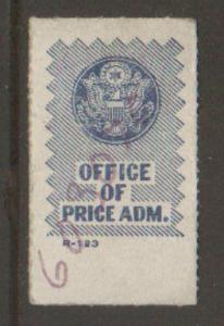 United States Office of Price Administration label