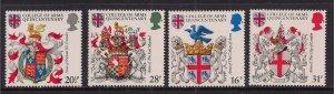 GB 1984 QE2 Anniv.College of Arms Umm set ( B1056 )