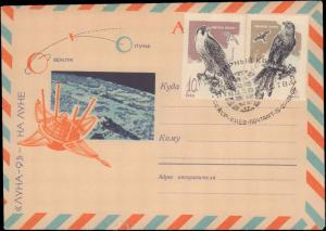 Russia, Birds, Space