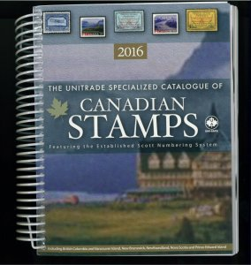 2016 Canada - The Unitrade Specialized Catalogue of Canadian Stamps - 720 pages