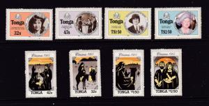 Tonga x 2 MNH sets from about 1985