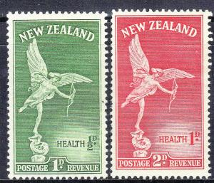 NEW ZEALAND SC# B30-31  MH  STATUE OF EROS   SEE SCAN