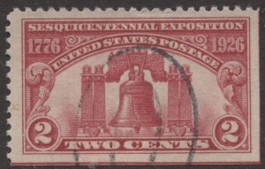 STAMP STATION PERTH US #627 Used