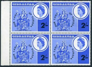 Gibraltar 182 block/4,MNH.Michel 184. OUR LADY OF EUROPE,1966.