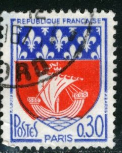 FRANCE #1095 , USED FAULT - 1964 - FRAN107NS8