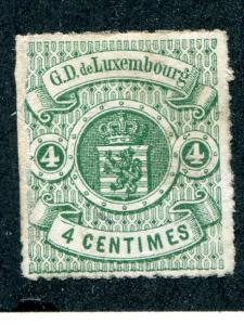 Luxembourg #16  Unused  VF - Lakeshore Philatelics