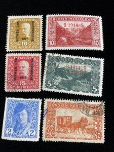 Early Bosnia Wonderful Interesting Stamp Lot  #0120
