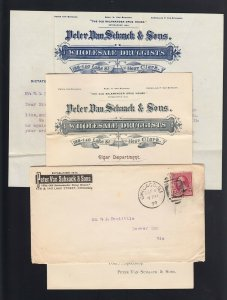 ILLINOIS: Chicago 1890 Letter & Priced Circular KEY WEST CIGARS