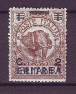 J21220 Jlstamps 1924 eritrea mh #81 elephant ovpt