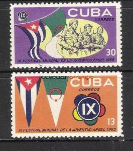 CUBA 969-970 MNH FLAG L464