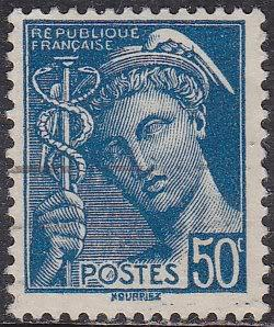 France Sc# 364 Hinged Used 1939