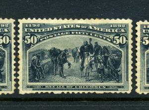 Scott 240 Columbian Unused Stamp (Stock 240-19)
